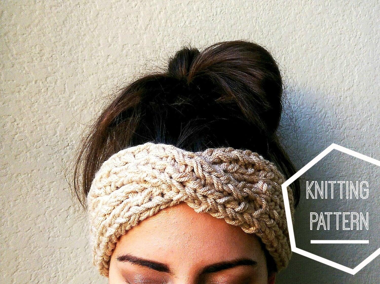 turban style headband tutorial