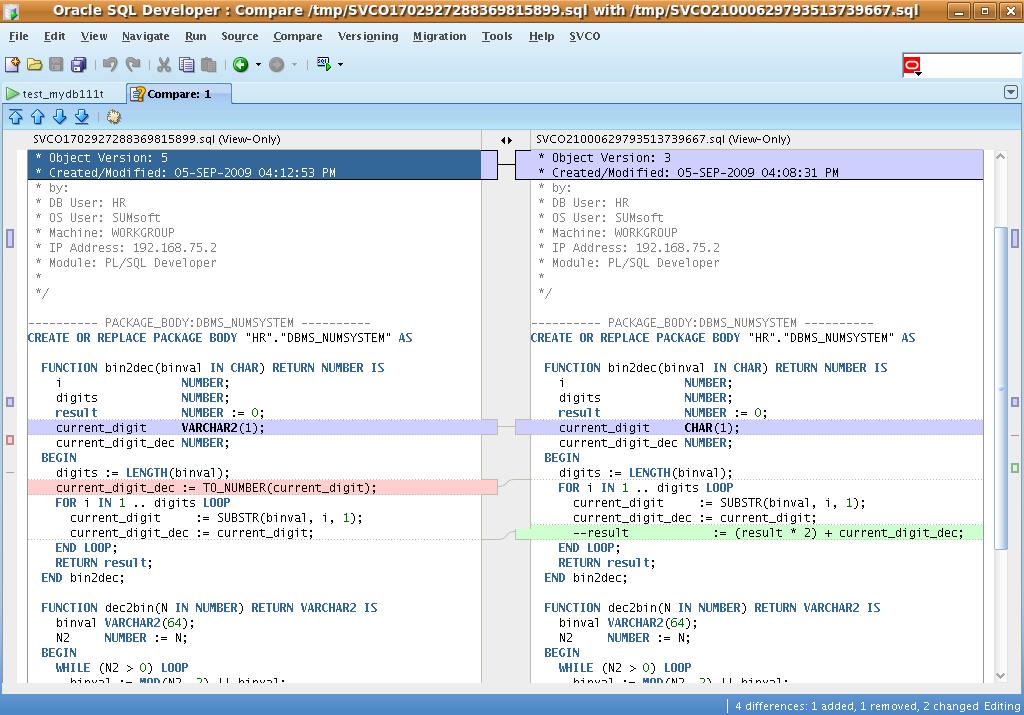 oracle sql developer tutorial