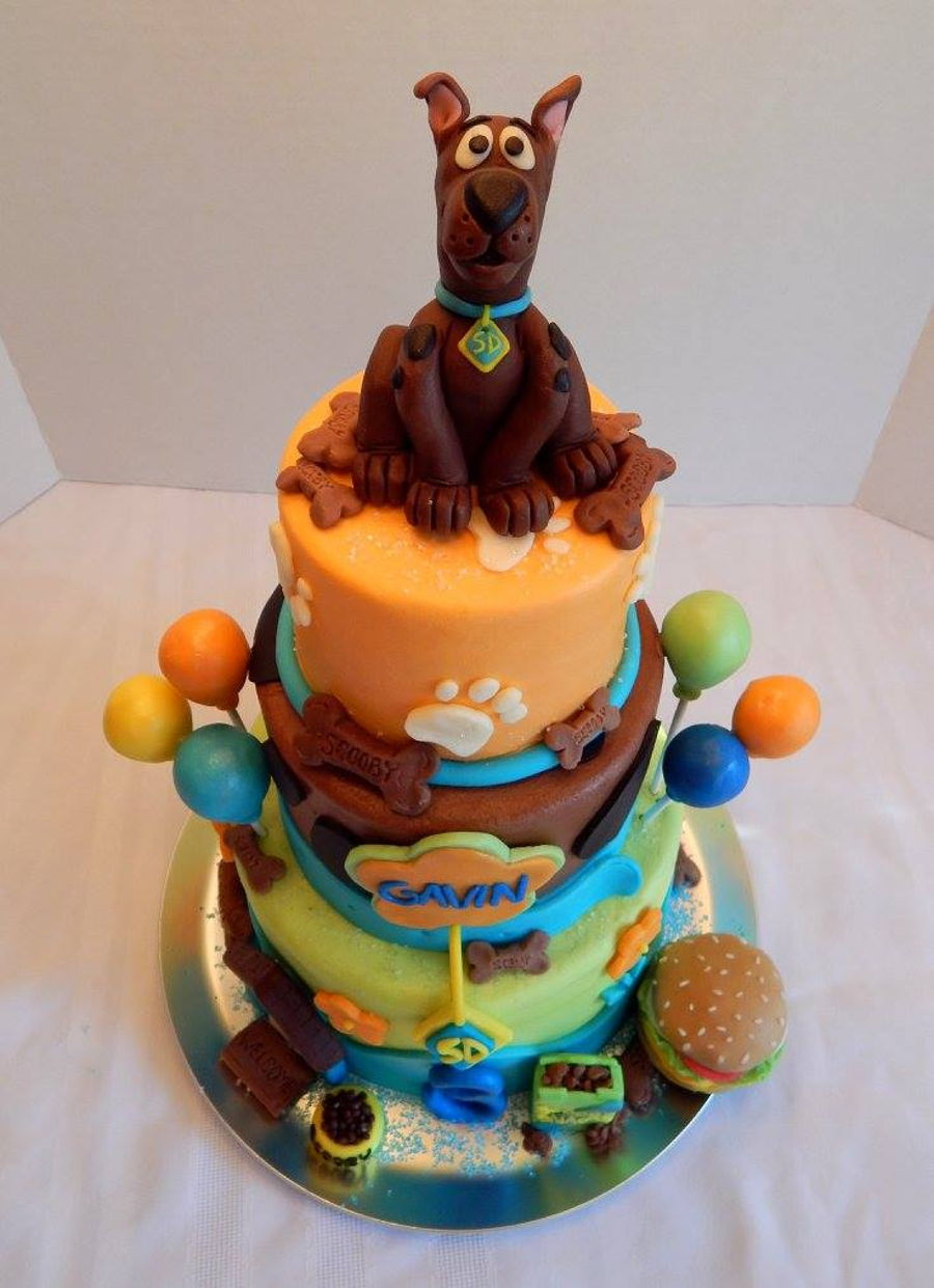 scooby doo cake tutorial