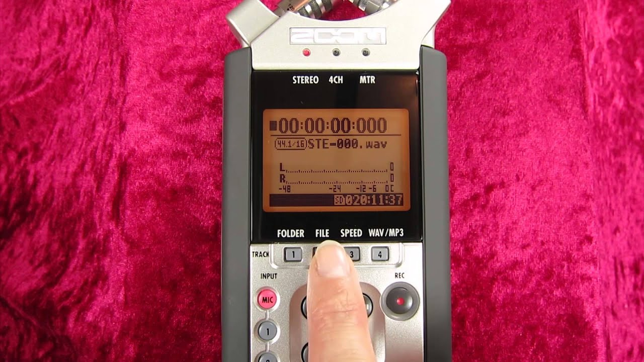 zoom h4n video tutorial