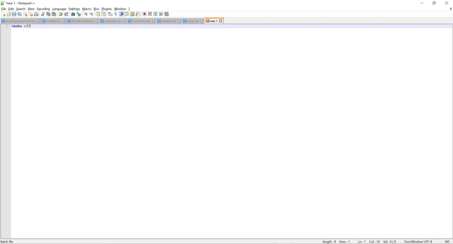 windows batch script tutorial