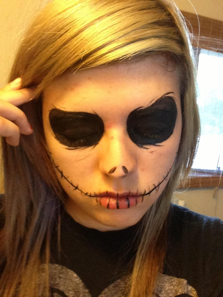 jack skellington makeup tutorial