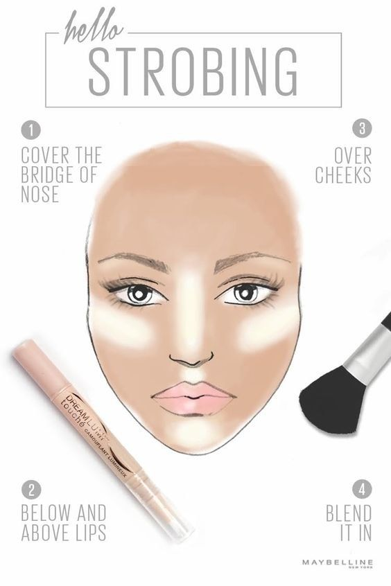 contour lines makeup tutorial
