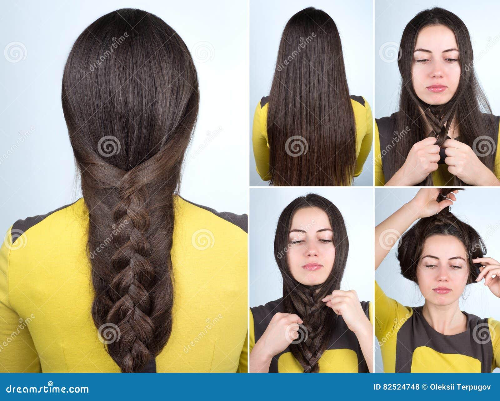 hair braid step by step tutorial