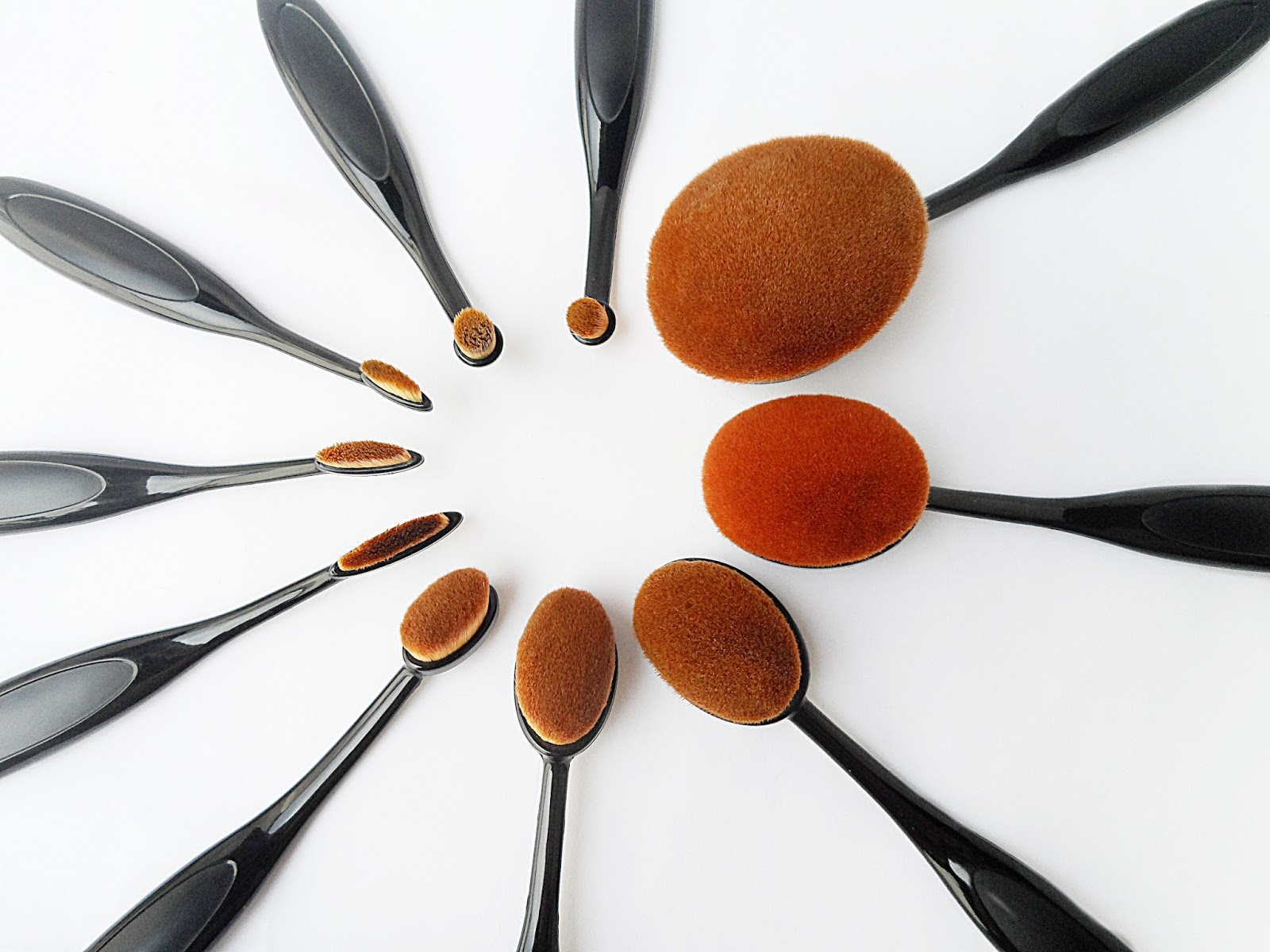 makeup brushes uses tutorial