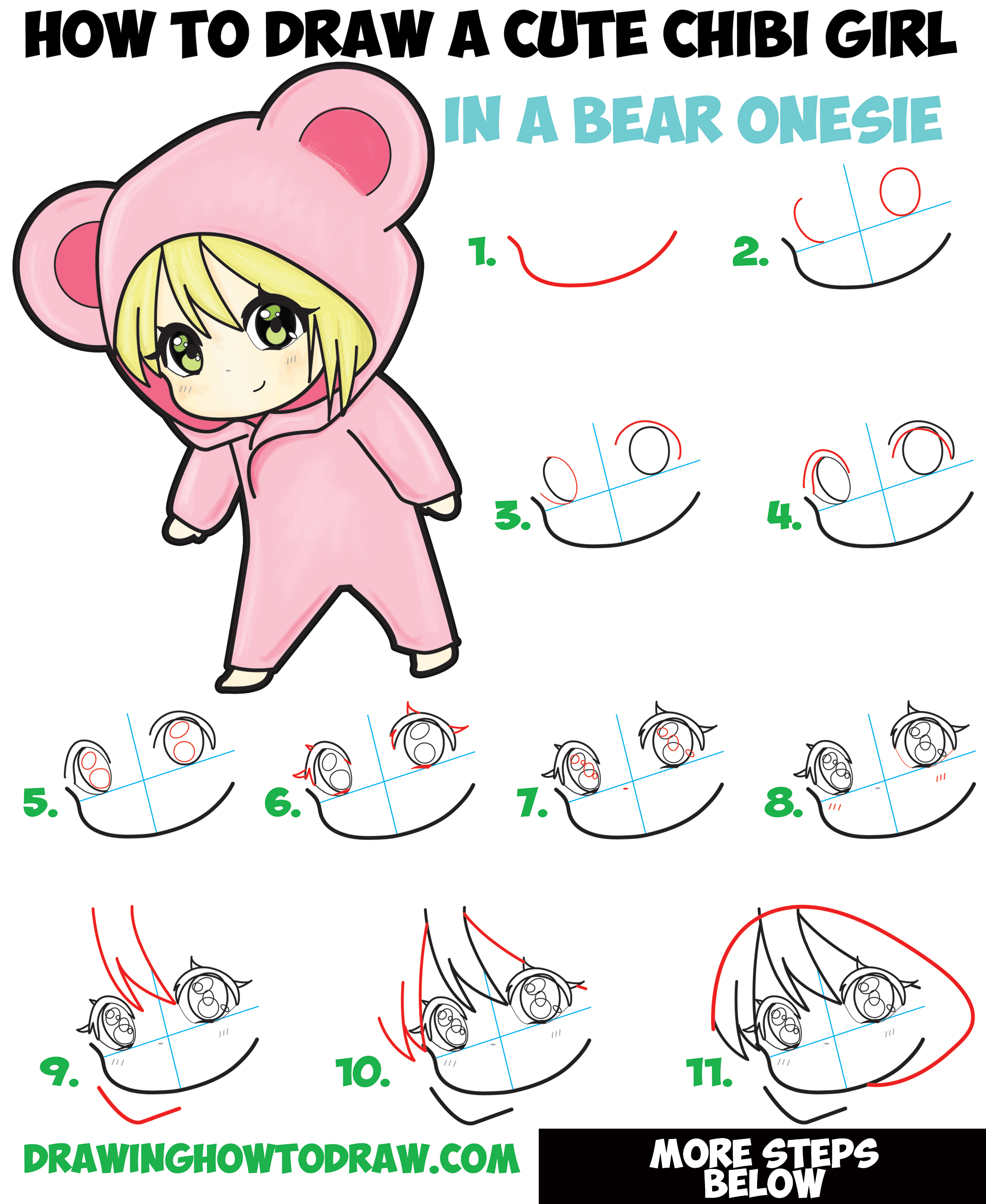 chibi drawing tutorial for beginners