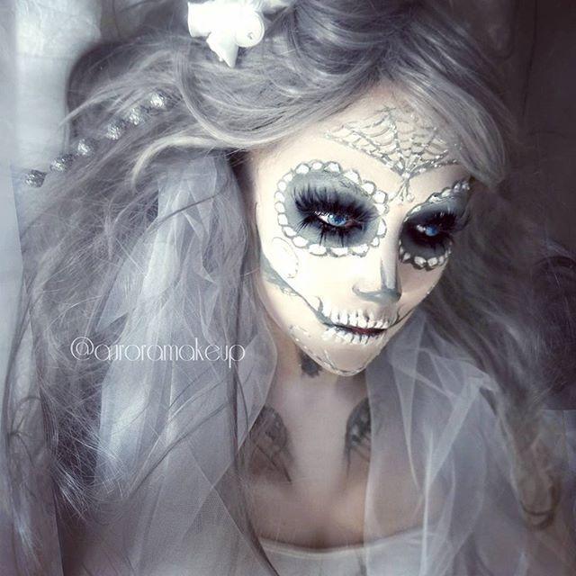 skull candy makeup tutorial