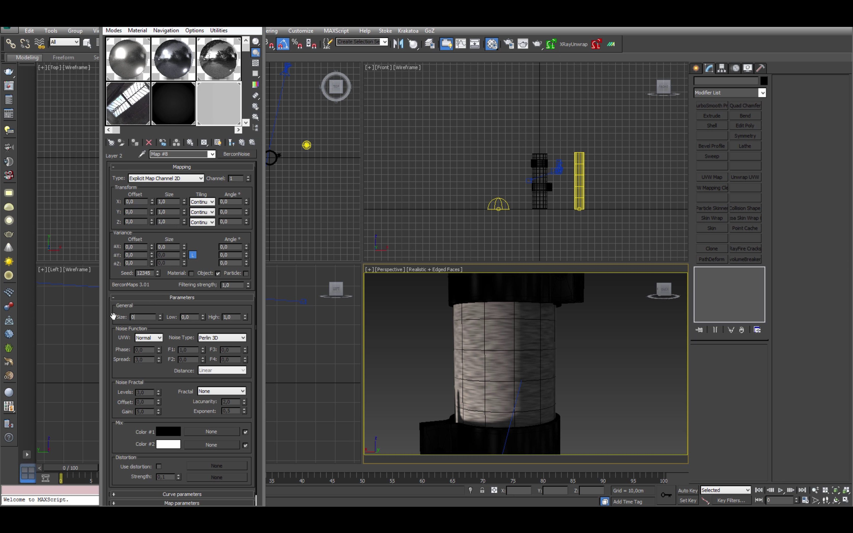 3ds max vray steel material tutorial pdf
