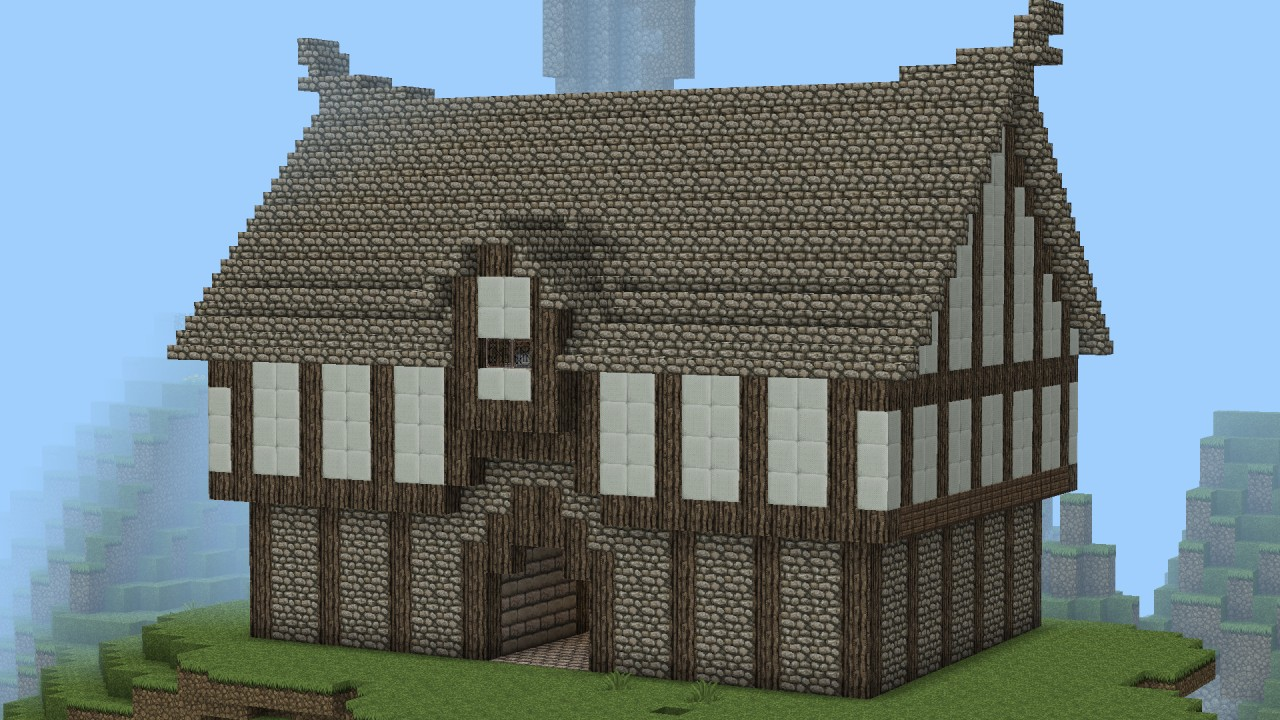 huge mansion minecraft tutorial