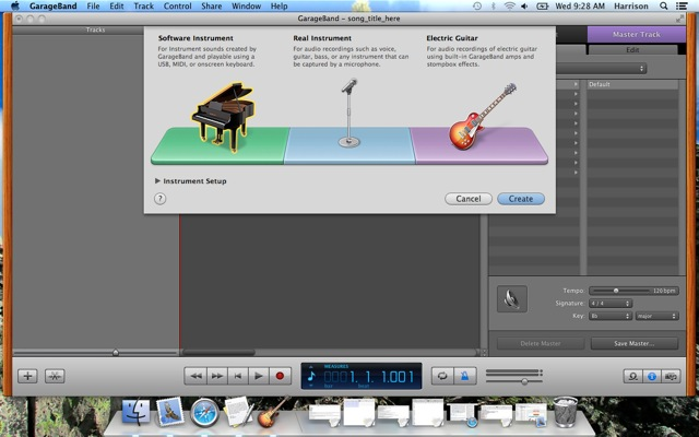 garageband tutorial voice recording