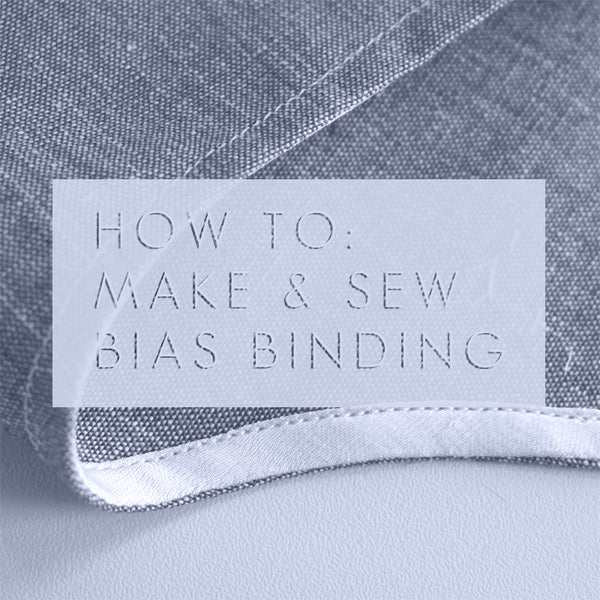 bias tape sewing tutorial