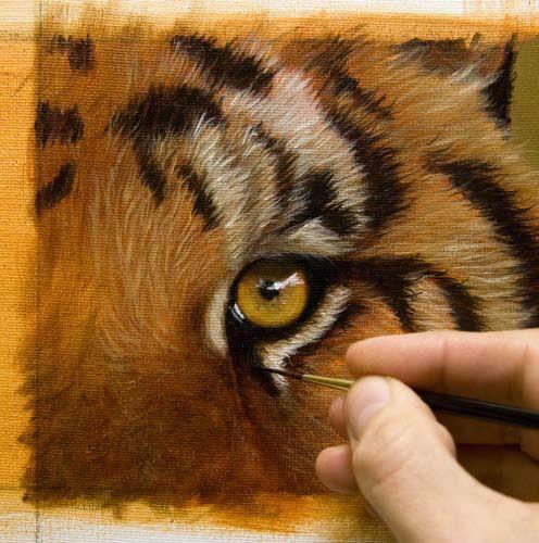 oil painting eyes tutorial