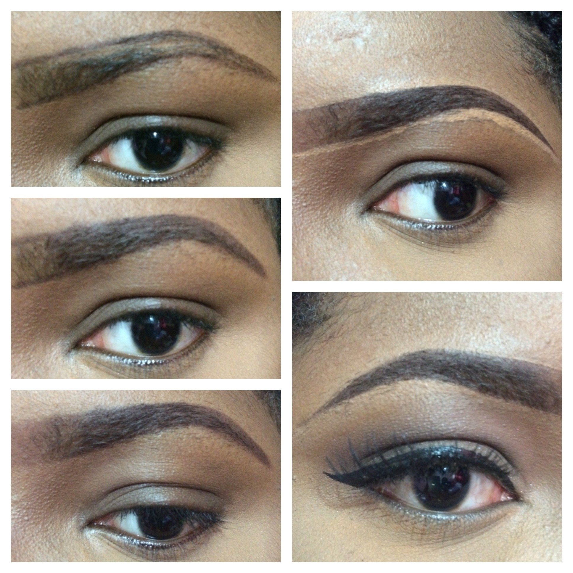 eyebrows on fleek tutorial