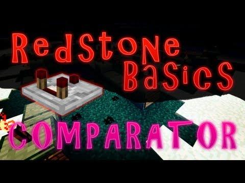 minecraft redstone comparator tutorial