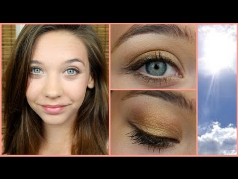 summer bronze makeup tutorial