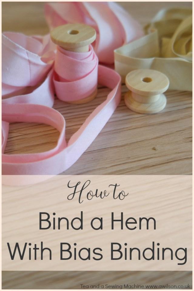 bias tape sewing tutorial