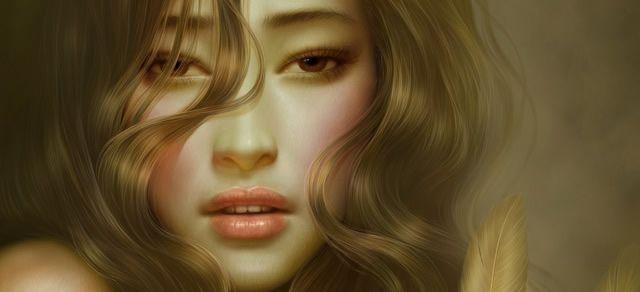 digital art portrait tutorial