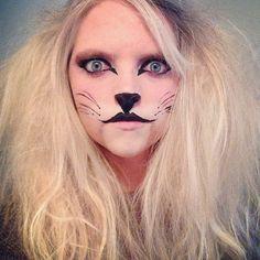 cowardly lion makeup tutorial