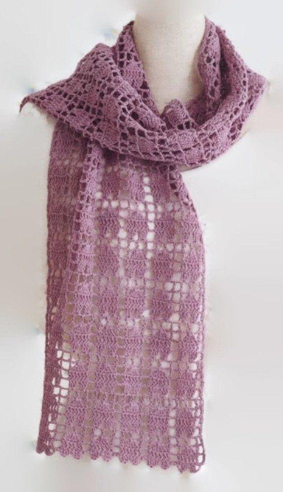 beginner crochet scarf tutorial