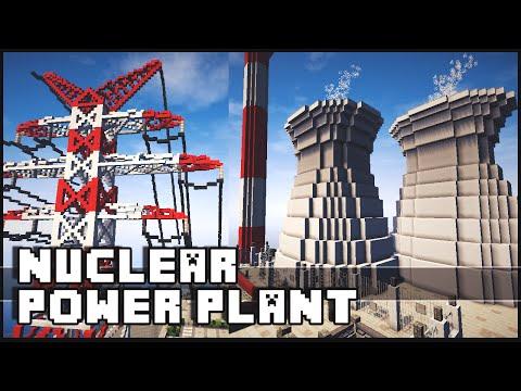 minecraft nuclear power plant tutorial