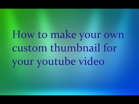 how to make your own tutorial video
