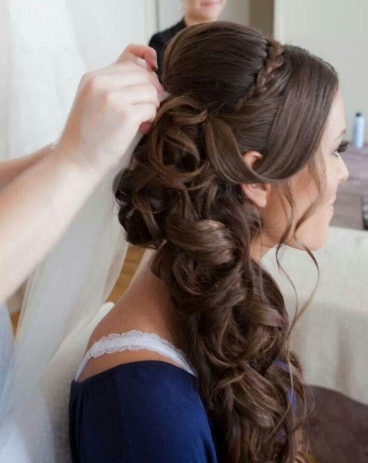 side swept wedding hair tutorial