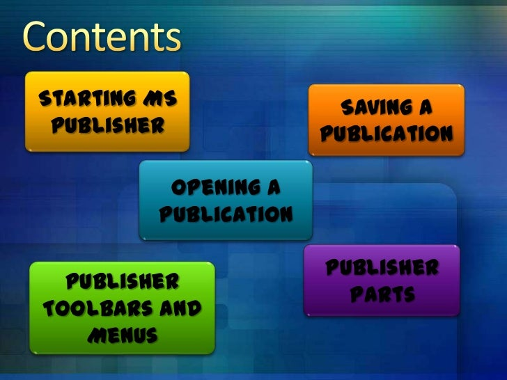 ms publisher 2007 tutorial ppt