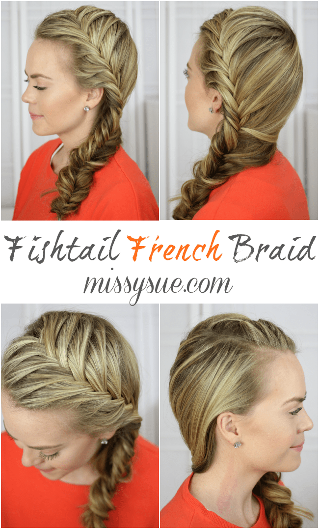 french fishtail braid tutorial on yourself