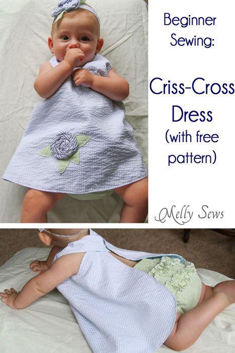 criss cross apron tutorial