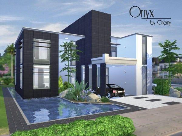 sims 3 modern house tutorial