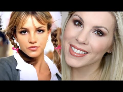 britney spears eye makeup tutorial