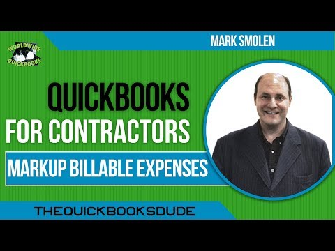 quickbooks for contractors tutorial