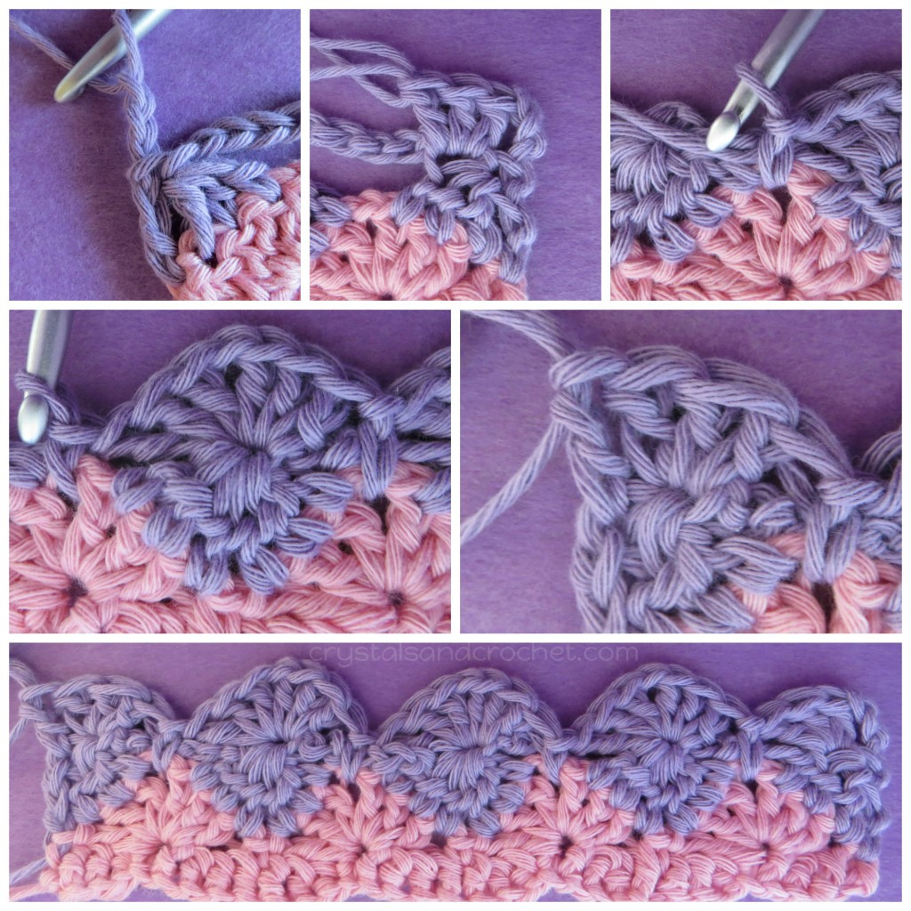 starburst stitch crochet tutorial