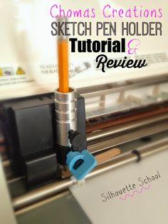 silhouette pen holder tutorial