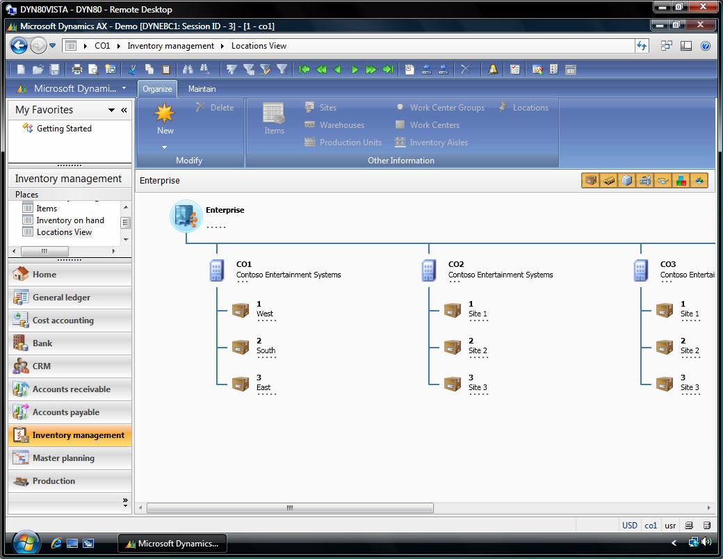 microsoft dynamics ax 2009 tutorial
