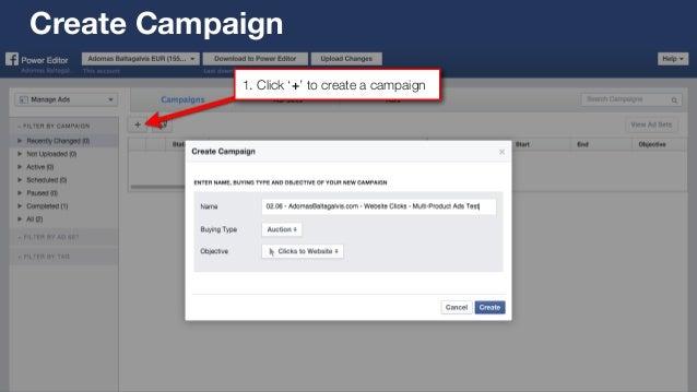 facebook power editor tutorial