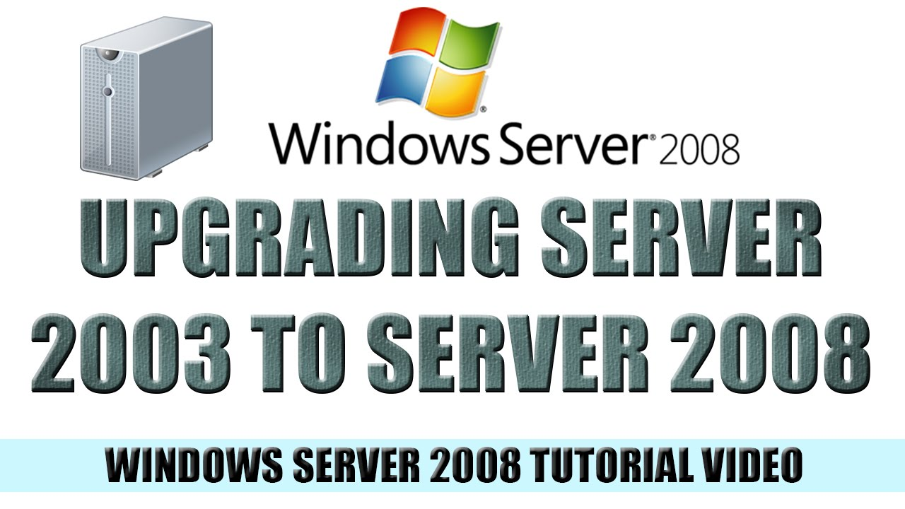 windows server 2008 tutorial