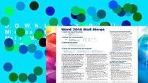mail merge video tutorial