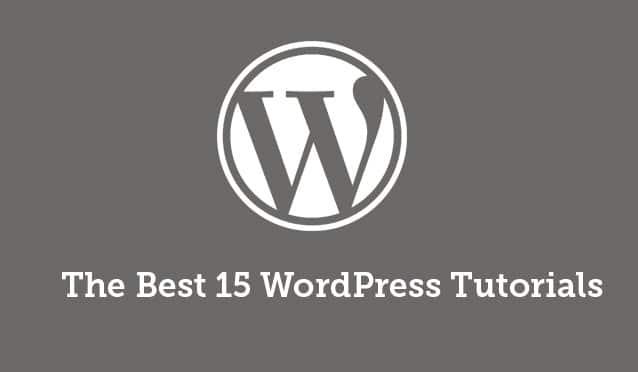 wordpress cms tutorial for beginners