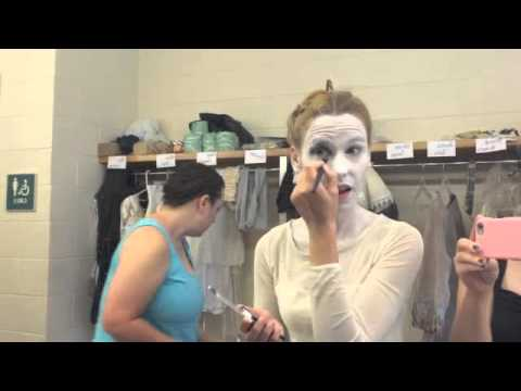 addams family makeup tutorial
