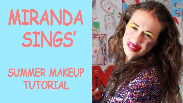 ariana grande makeup tutorial miranda sings
