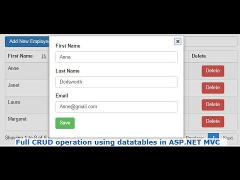 asp net mvc tutorial for beginners video