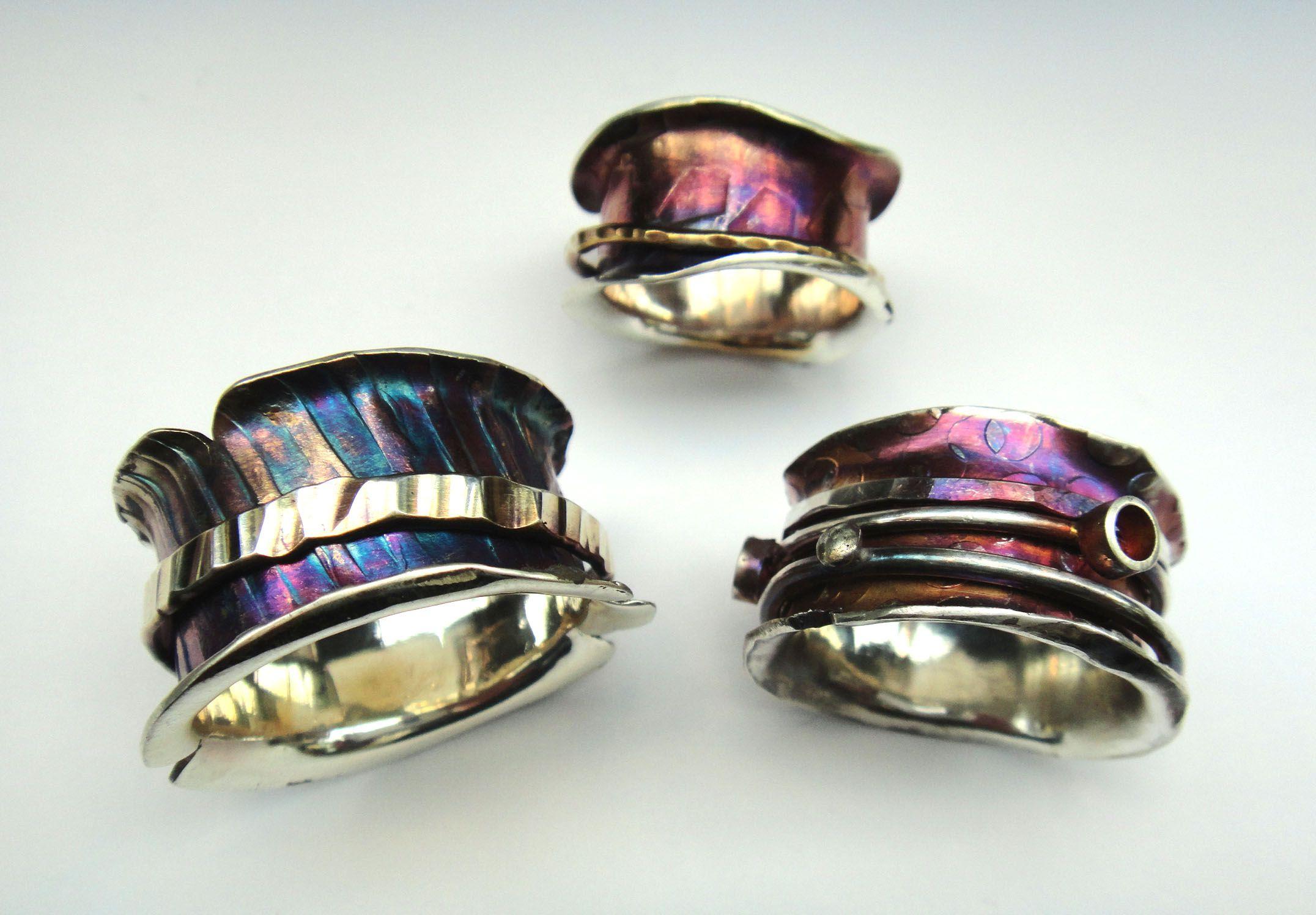 free spinner ring tutorial