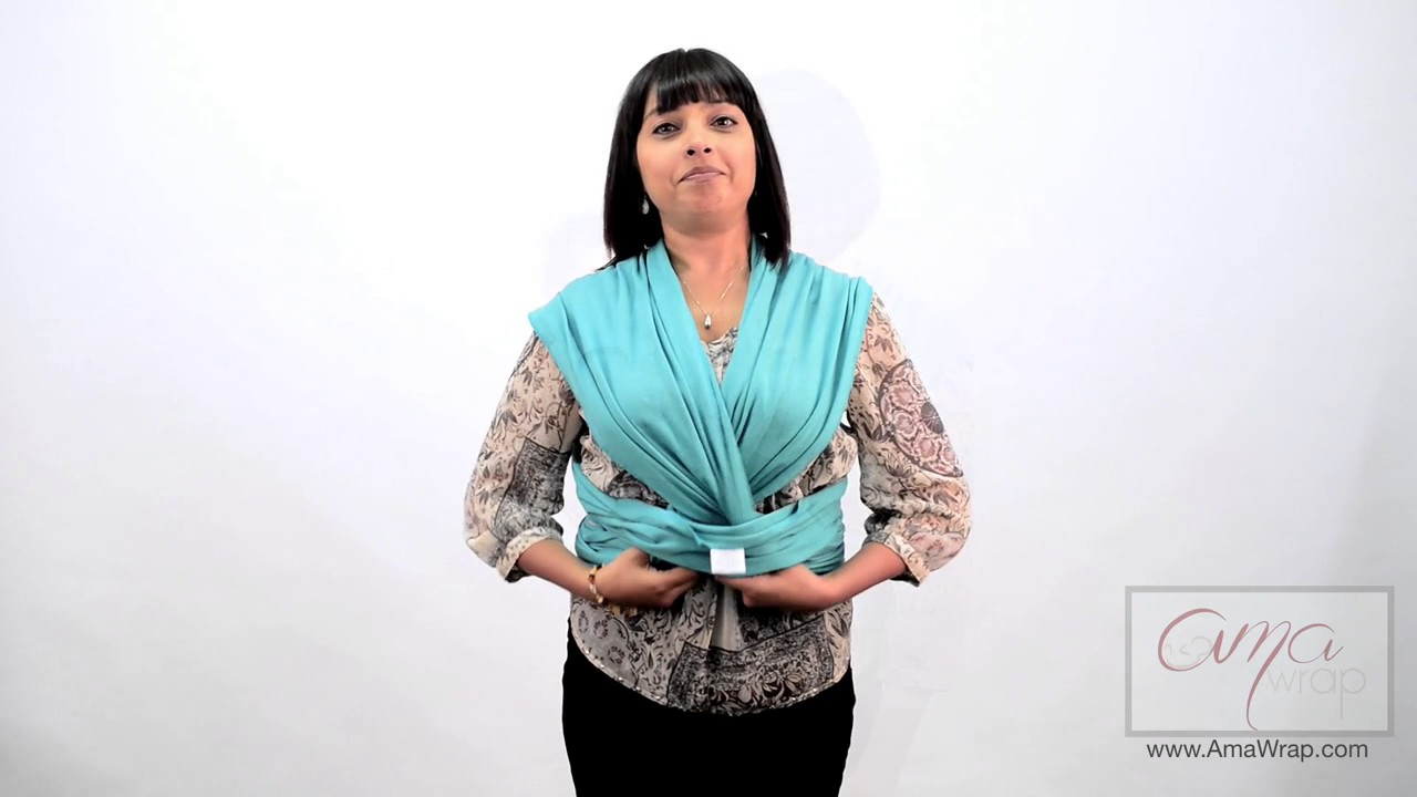 baby sling wrap tutorial
