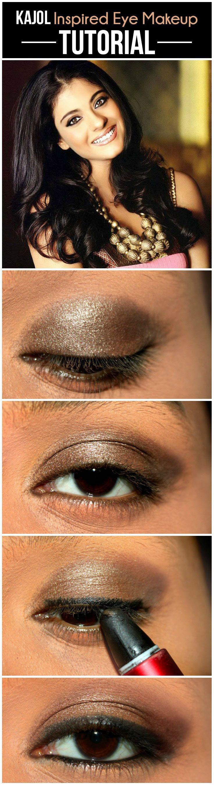 bollywood eye makeup tutorial