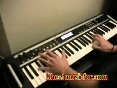 beverly hills cop piano tutorial