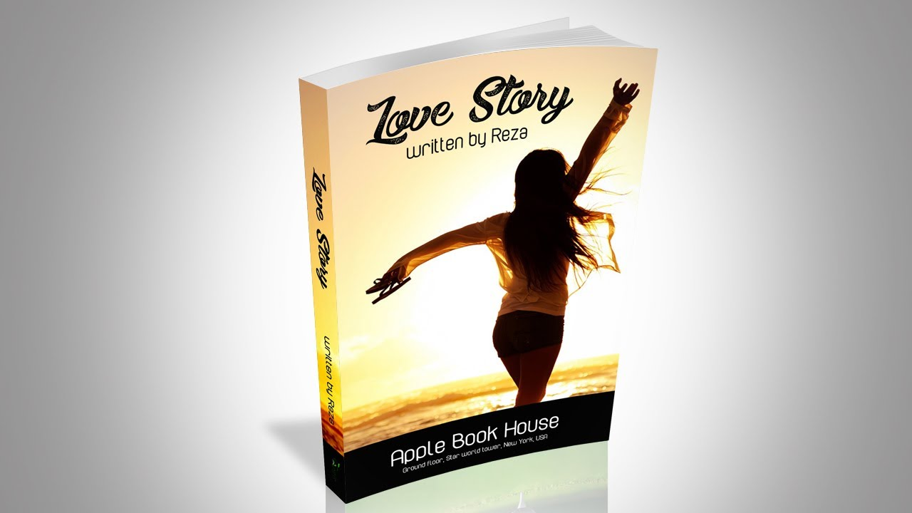 book cover tutorial photoshop