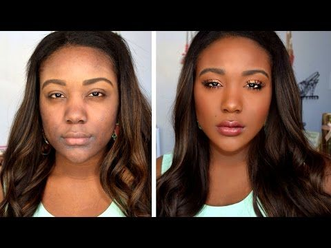 mixed race makeup tutorial
