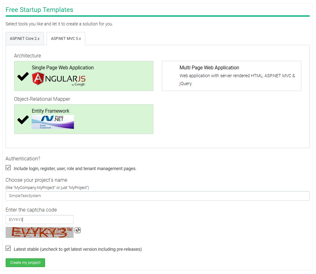 asp net mvc single page application tutorial