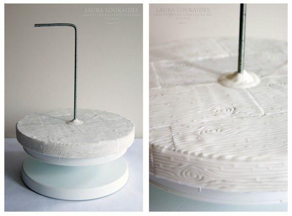 how to make a gravity cake tutorial